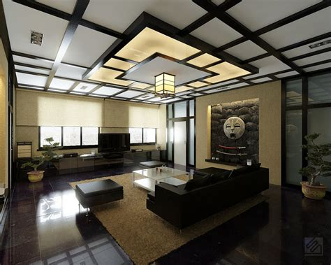 Japanese Room Decor Stylish Living Rooms