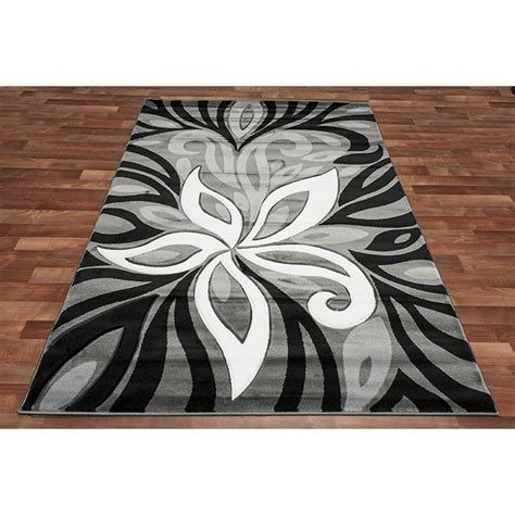 Modern Black And White Rugs Black White And Grey Area Rugs Rugs Ideas