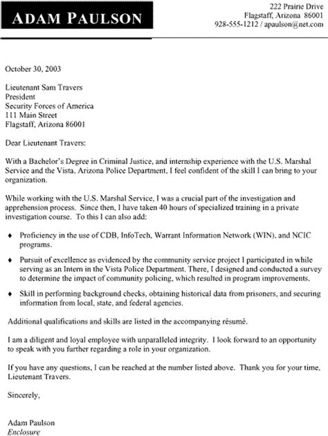 criminal justice resume templates paralegal cover letter