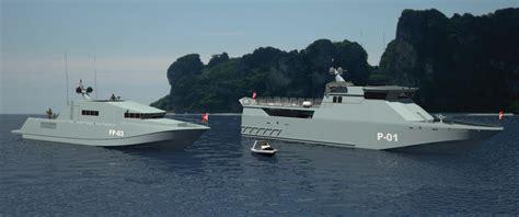 fast patrol boats design of 38 m fast patrol boat
