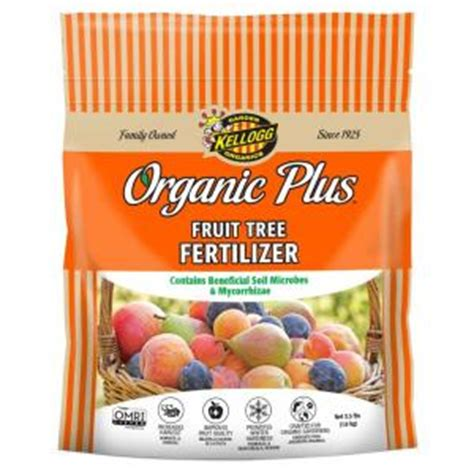 kellogg garden organics 3 5 lb fruit tree fertilizer 3002