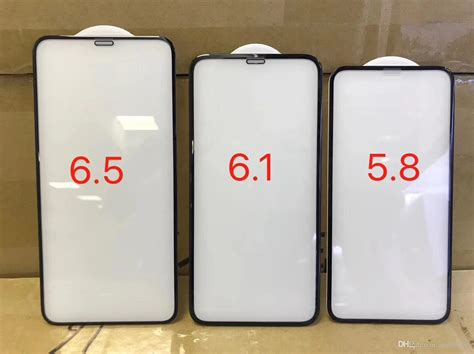 glass film  iphone xs xr xs max size includes