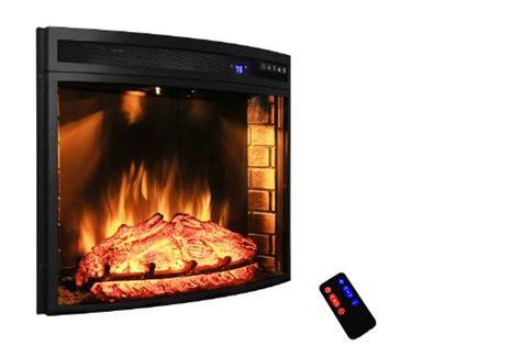akdy 28 quot black electric firebox fireplace heater insert