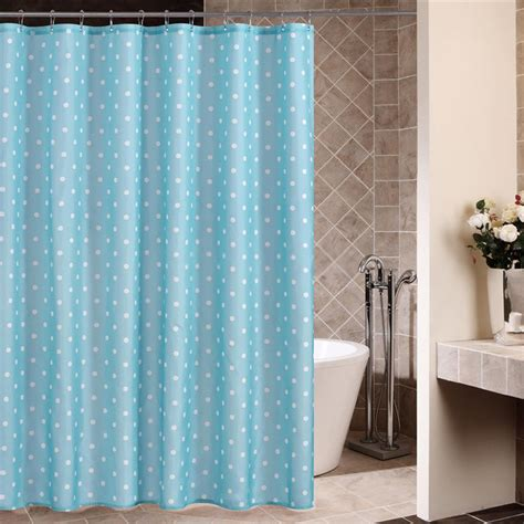 blue and white polka dot curtains blue and white polka dot shower curtain curtain