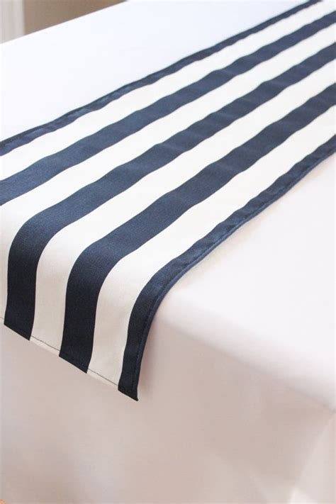 and white striped table runner 25 best ideas about navy blue table runner on
