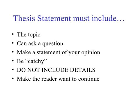 thesis statement about continuing education essay writing for success