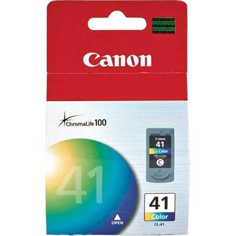 Dijamin Cartridge Canon 41 Color canon cl211xl large tri color ink cartridge