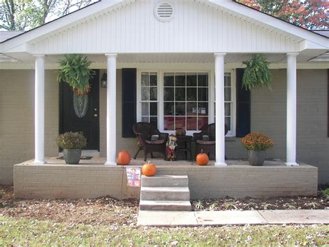 veranda images for small houses small front porch ideas design des peres mo pictures