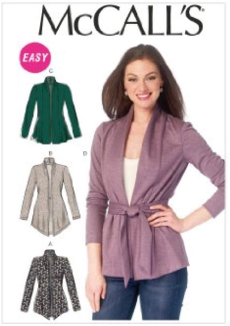 pattern review julie starr mccalls 6996 fuscia cardigan at couture