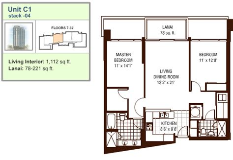 watermark floor plan watermark honolulu hawaii condo by hicondos com