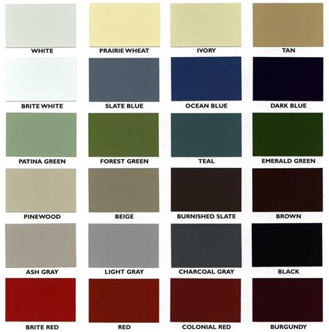 siding colors outdoor