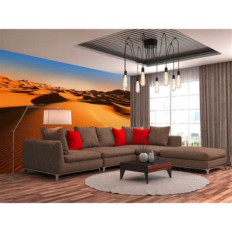 ideal decor wall murals ideal decor desert landscape scenic landscapes wall mural