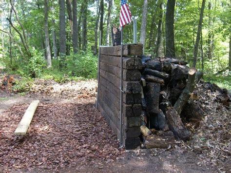 backyard shooting range gun range backstop for the love of guns pinterest