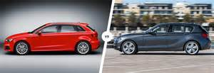 Audi A1 Vs A3 Audi A3 Vs Bmw 1 Series Hatchback Comparison Carwow