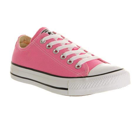 Converse All Pink Low converse all low in pink for lyst