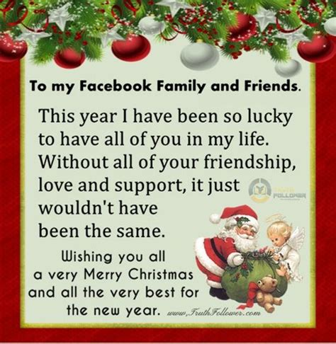 merry christmas  happy  year   facebook family  friends pictures