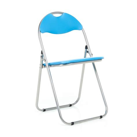 Folding Chair With Desk by Blue Folding Chair Leather Padded Desk Chairs Foldable