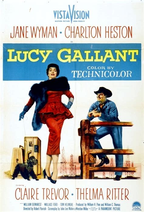 Film Lucy Gallant 1955   lucy gallant 1955 with jane wyman favorite movies