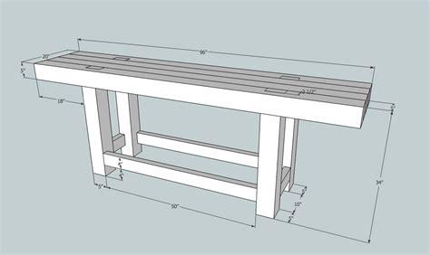 free roubo bench plans build workbench beginner plans diy pdf full size wood desk
