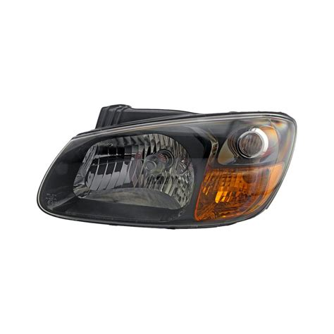Kia Spectra Headlight Auto 7 174 584 0287 Driver Side Replacement Headlight