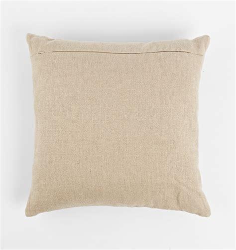leather pillow cover rejuvenation