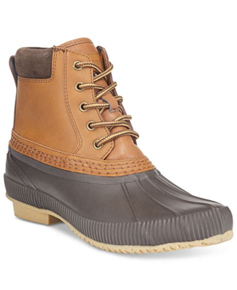 hilfiger s casey waterproof duck boots only at