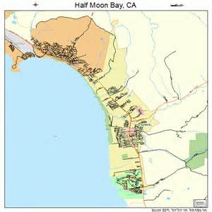half moon bay california map half moon bay california map 0631708