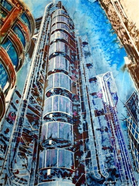 building painting cathy read the lloyds building artists illustrators