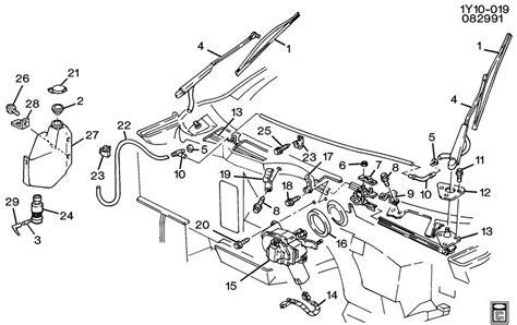 repair windshield wipe control 1993 chevrolet corvette lane departure warning wiper system windshield