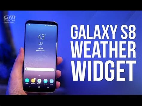 weather apps for android phones galaxy s8 weather widget for any android phone