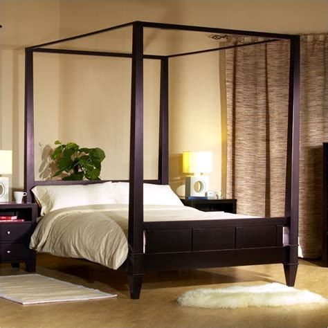 Canopy Platform Bed Bedroom Furniture Style Guide Bedroom Furniture Sets