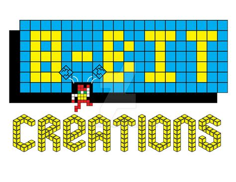 Kaos 8bit Creation 2 8 bit creations logo by flemhead on deviantart