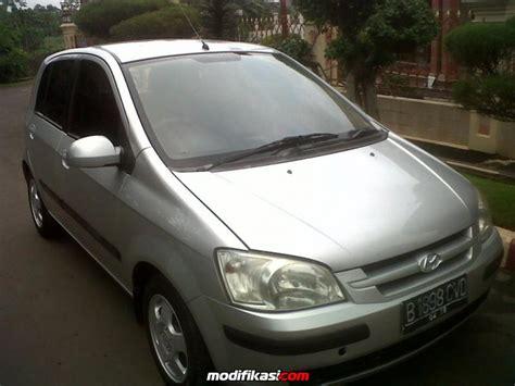 Lu Depan Mobil Hyundai Getz for sale hyundai getz silver 2004 automatic dp ringan
