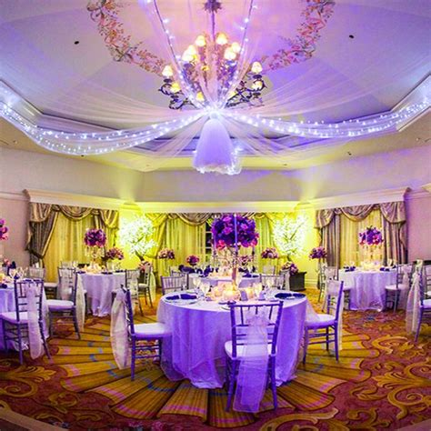 tangled theme prom shades of purple wedding reception and receptions on