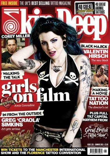free tattoo magazines free magazine of magazines skin