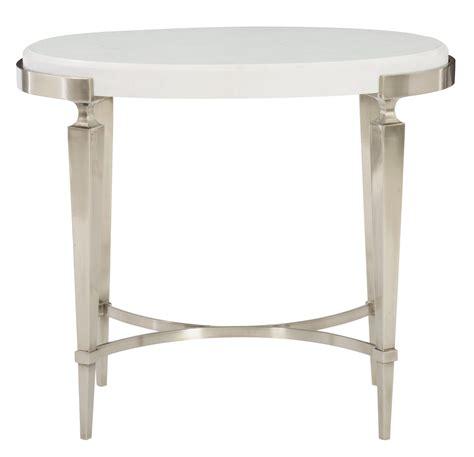 oval wood side table oval side table bernhardt