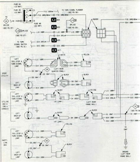 2006 chevy silverado backup light wire diagram wiring
