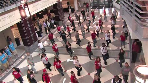 tutorial dance flash mob flash mob at the ohio union 5 3 2010 the ohio state