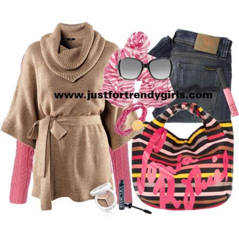 teens fashion clothing in winter just for trendy girls