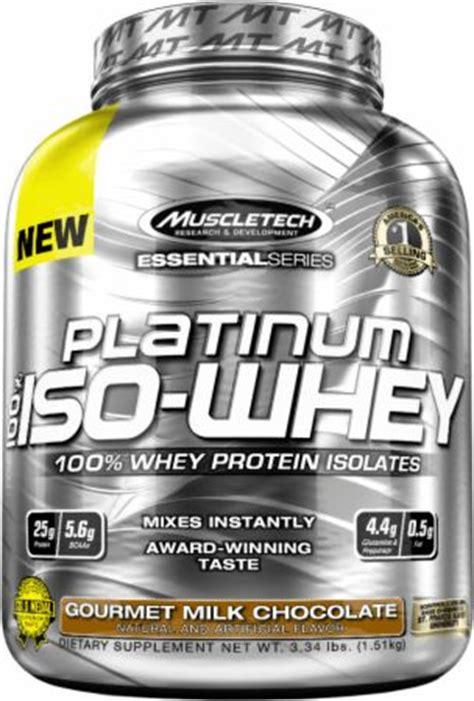 platinum 100 iso whey 3 34 lbs muscletech suplemen