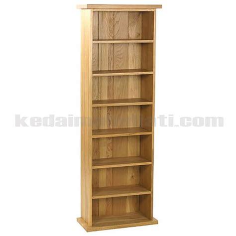Rak Buku Jati Jepara rak buku simple kayu jati jepara kode krb 004