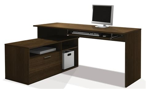 Compact L Shaped Desk Bestar Furniture For Your Home And Office Bestar 2go