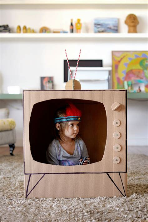 5 coolest diy kids toys made with cardboard petit amp small
