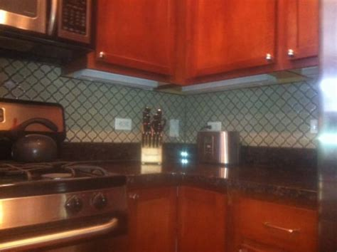 lantern tile backsplash historic lantern style tiled backsplash yelp