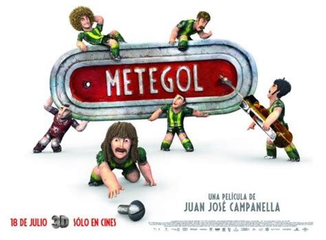 underdogs argentina film underdogs aka metegol movie poster 10 of 27 imp awards