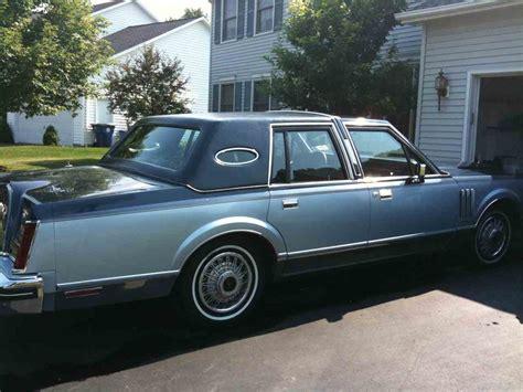 1982 lincoln continental vi 1983 lincoln continental vi for sale classiccars