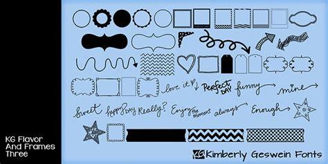 dafont instagram font kg flavor and frames three font dafont com