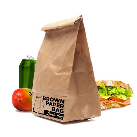 How To Make A Paper Lunch Bag - brown paper bag lunch bags tough insulated office packed