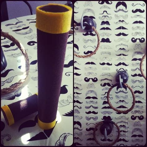 How To Make A Telescope With Paper Towel Roll - jake neverland themed birthday handmade
