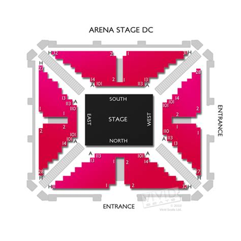 arena stage diagram arena stage dc seating chart seats